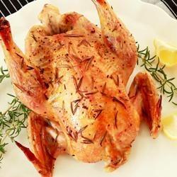 Lemon and Rosemary Roast Chicken   Recipes   Pinterest