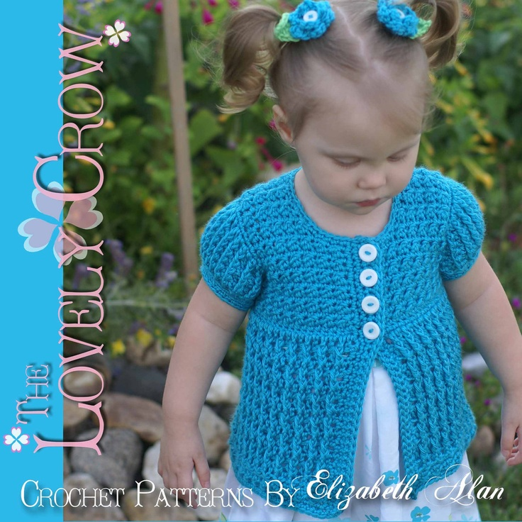 Crochet Child Cardigan Pattern : Baby Cardigan Crochet Pattern Vest, Sweater, or Cardigan ...