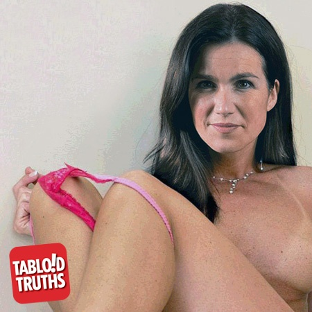 Susanna Reid Nude At Home On The Staircase Nsfw