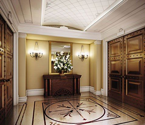 Beautiful foyer for Foyer ideas for indian apartments