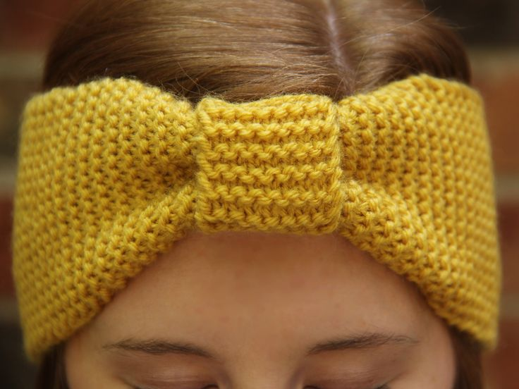 Free Knitting Patterns Ear Warmers : The Ear Warmer