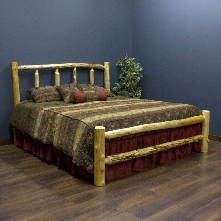 Cedar Lake Log Bed Kit King Size Now