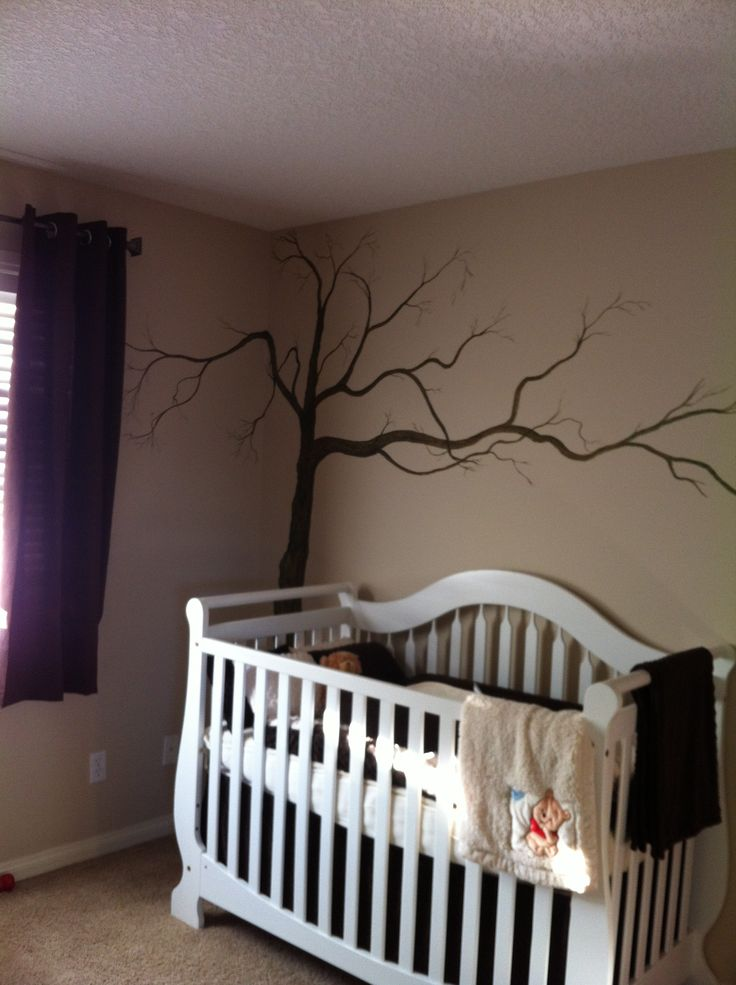 Hand painted wall mural future kiddos pinterest for Hand painted walls