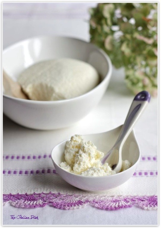 Homemade Ricotta Cheese | familly | Pinterest