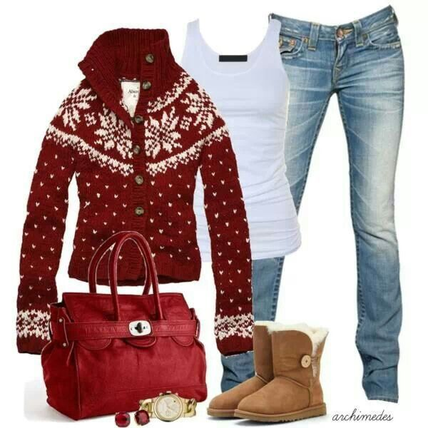 Cute winter outfit my dream wardrobe pinterest