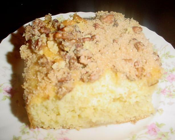 Easy Apple Coffee Cake; DuncanHines.com
