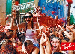 Ray-Ban, Never Hide Campaign