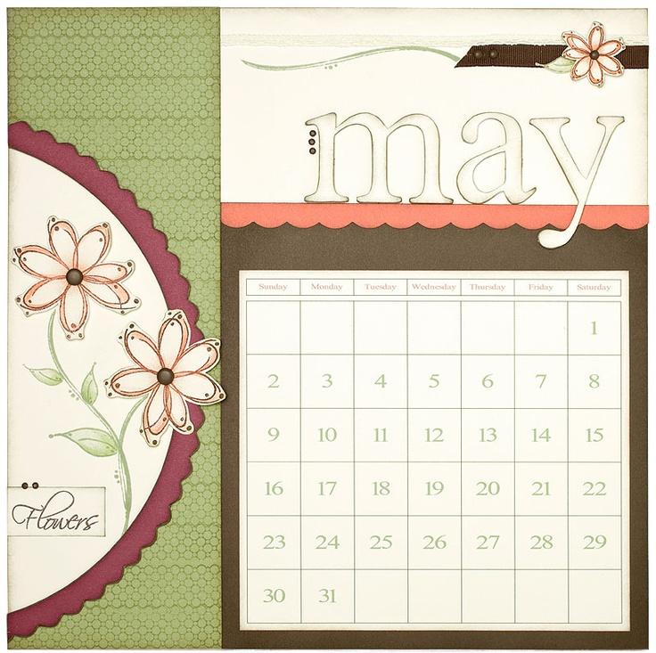 May Calendar Decorations : Cute may calendar idea from ctmh home décor pinterest