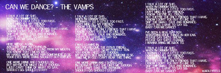 The Vamps - Can We Dance Lyrics | MetroLyrics