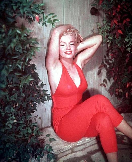 Marilyn Monroe hairy armpits? No matter.