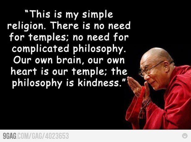 Kindness, Dalai Lama  Words of Wisdom  Pinterest