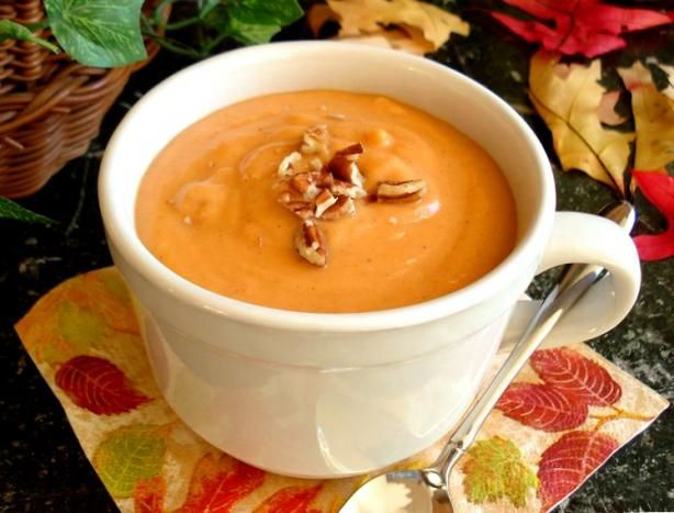 "Point Creamy Sweet Potato Soup: ""Super yummy and has great texture ..."