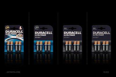 Minimalist effect in the maximalist market - Duracell