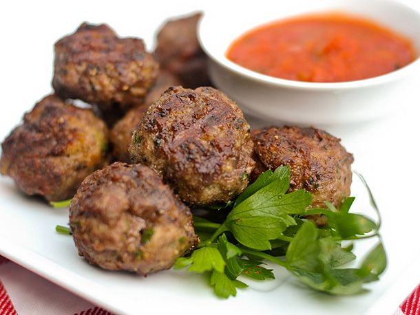 Grilling: Italian-Style Meatballs with Pecorino and Parmesan | Serious ...