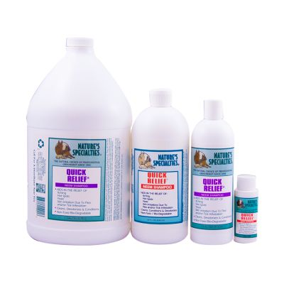 A homemade mixture of vinegar, water and dial antifungal is a common recipe to treat fungi and bacteria induced infections inflicted on a dog skin. Affordable and effective, this shampoo is mostly used to treat the 3I's, itching, inflammation and infection.
