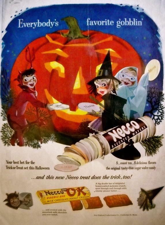 Necco ad - Halloween theme