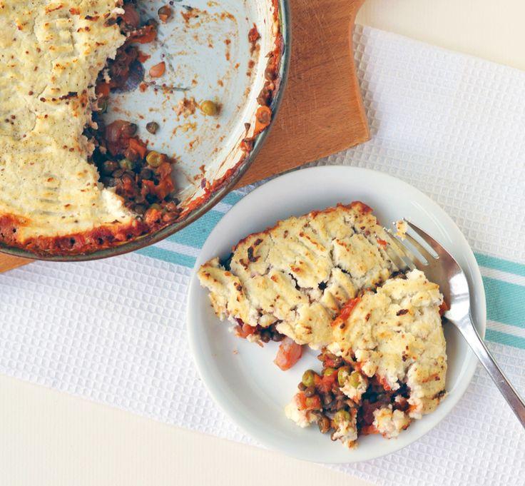 Summer shepherd's pie...lightened up! — Including Cake