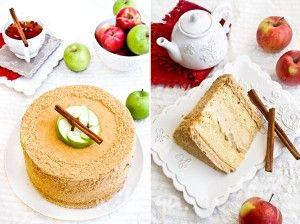 Bolo de maçãs