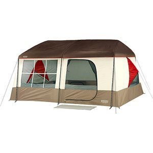 Wenzel Kodiak Taupe and Red Tent, ,1439; x 1439;
