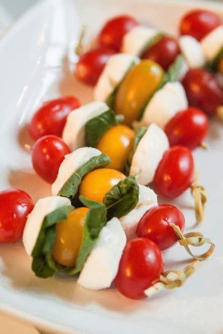 Caprese Skewers | Favorite Recipes | Pinterest