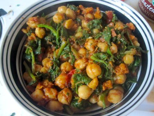 Espinacas Con Garbanzos (Spinach With Garbanzo Beans) Recipes ...