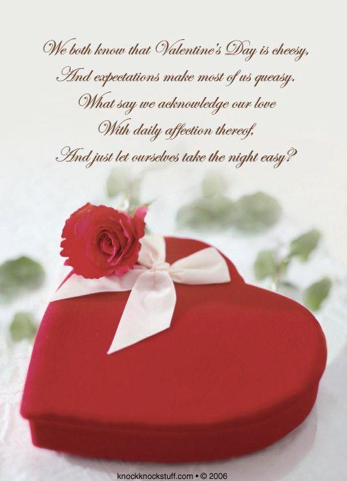 valentine day poems love