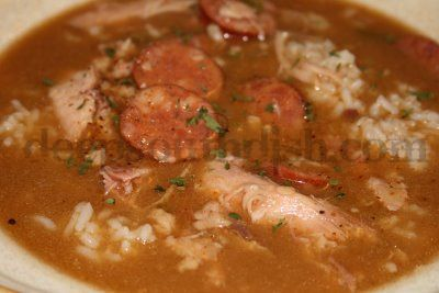 Despite our access to fresh Gulf shrimp, chicken and sausage gumbo is ...