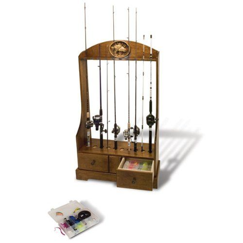 Pin by suliaszone on fishing rod rack pinterest for Fishing rod holder plans