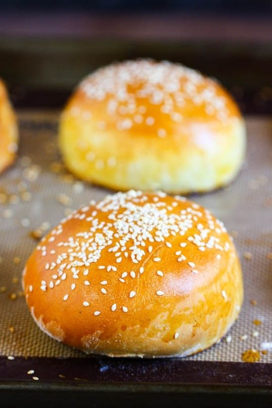 Homemade Hamburger Buns | Recipes - Bread | Pinterest