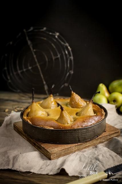 Chai and Caramel Pear Tart | Food | Pinterest
