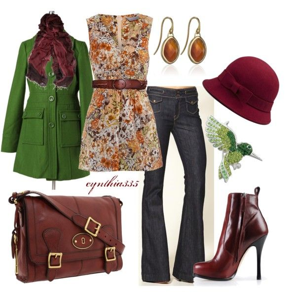 """Burgundy"" by cynthia335 on Polyvore"