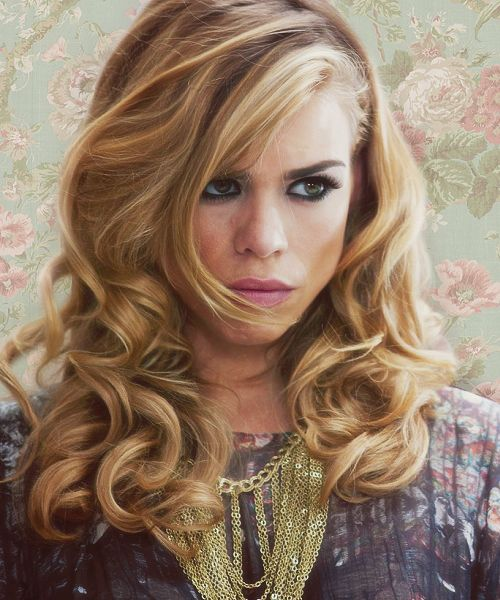 Billie Piper & the absolute best hair on the planet.