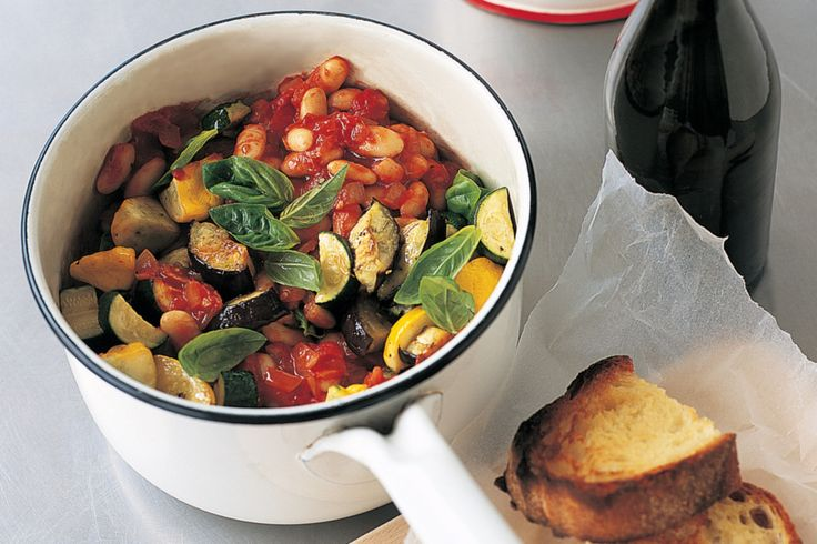 vegetable white bean ratatouille | VEGGIE TALE S | Pinterest
