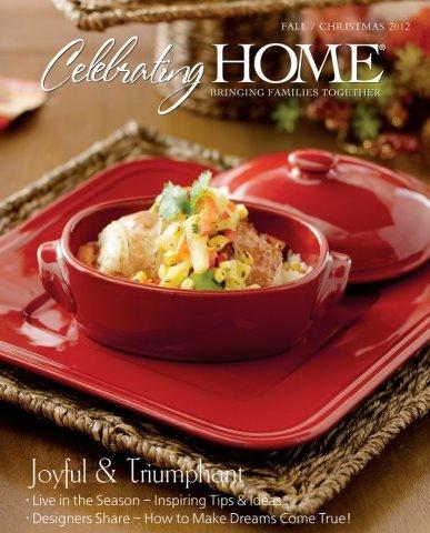 New Fall Christmas Catalog 2012 Celebrating Home Pinterest