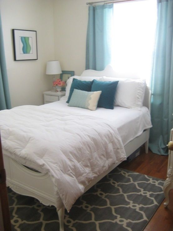 bed placement for small guest bedroom click your heels 3