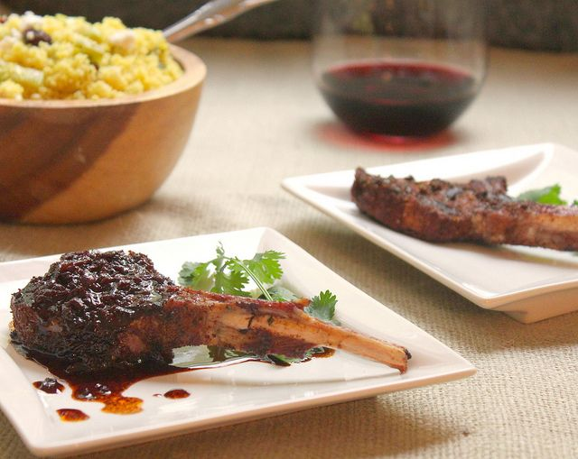 Spiced Lamb chops | Lamb chops | Pinterest