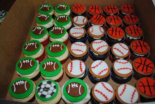 Sports Cupcake Ideas 87