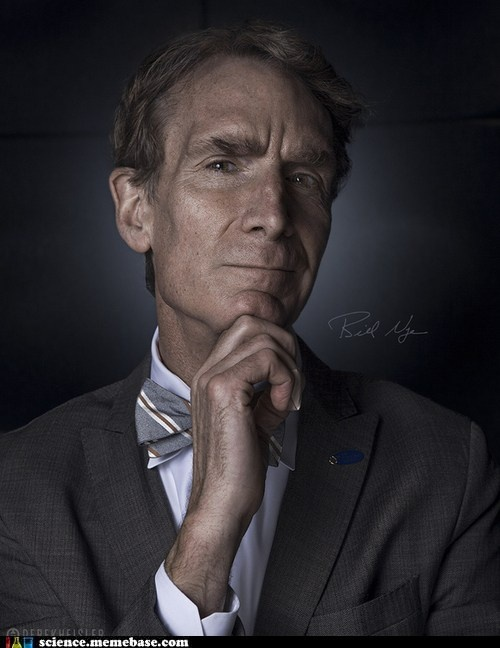 Awesome portrait of Bill Nye
