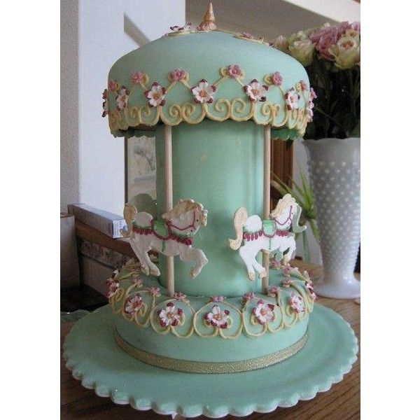 Pictures Of Carousel Birthday Cakes