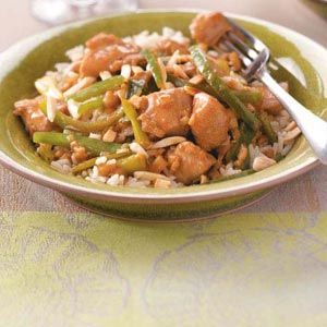 Ginger Chicken....another favorite! Simple but really tasty and fresh ...