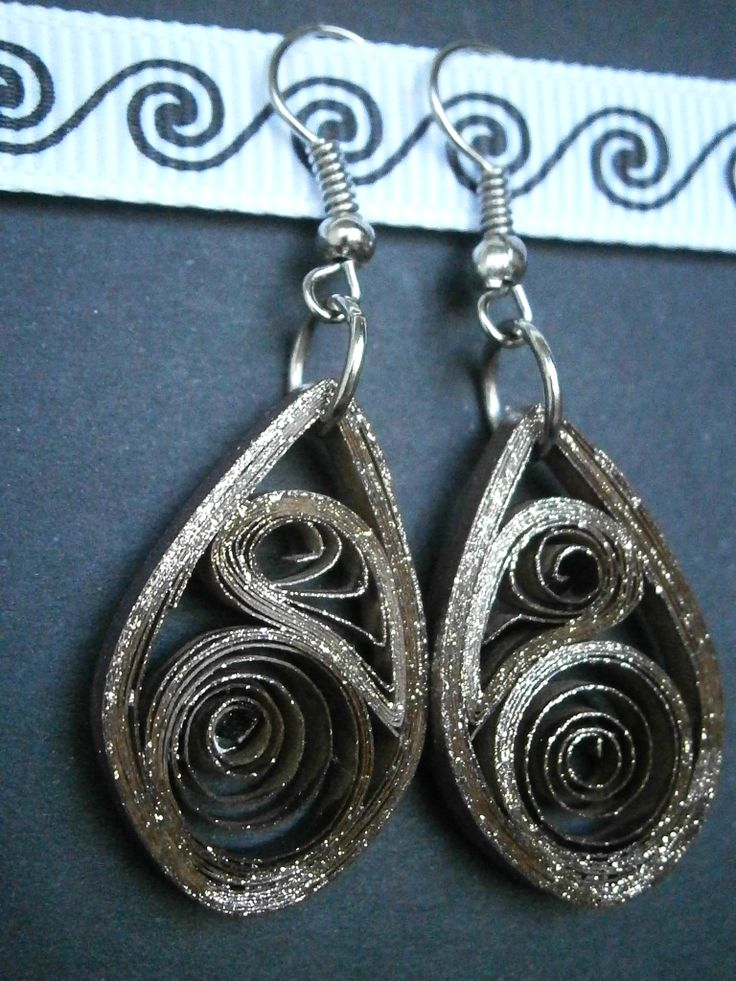 quilling earrings | DIY + Crafts | Pinterest