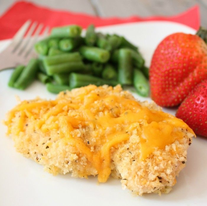Garlic Cheddar Chicken Recipe — Dishmaps