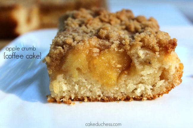 apple crumb coffee cake|cakeduchess | Breakfast ~ Brunch | Pinterest