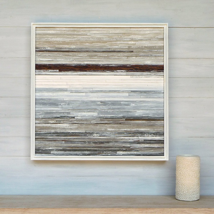 Available modern rustic wood wall art 24 x 24 distressed wood abstr - Modern rustic wall decor ...