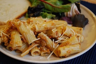 Rigatoni with Eggplant Puree. healthy. | Delicious | Pinterest