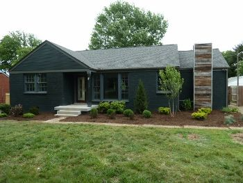 Painted Brick Ranch Painted Brick Pinterest