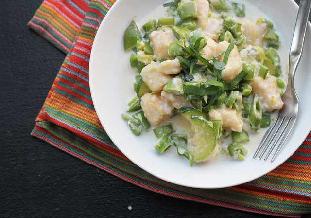 Summer Vegetable Gnocchi by eatswellwithothers, via Flickr