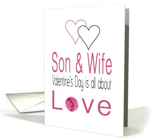 valentine day cards son