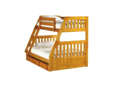 Badcock Kendall Twin Full Bunk Bed Home Decor