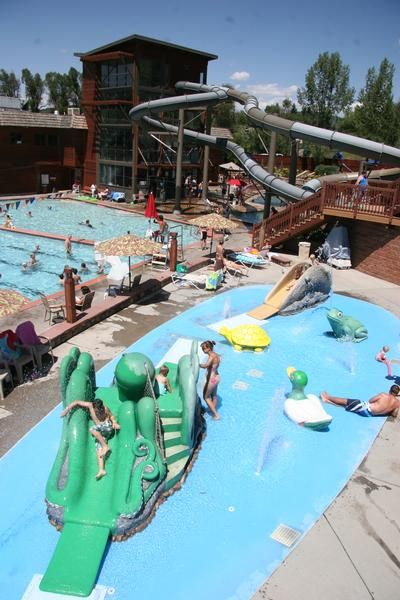 Pin by beth gustas on could be fun to do colorado pinterest - Cool indoor pools with slides ...